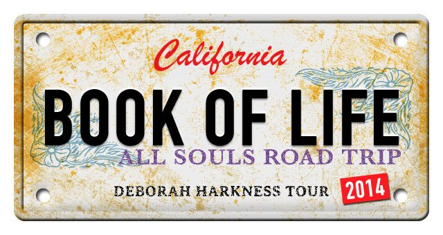 THE BOOK OF LIFE,  2014 Book Tour Information