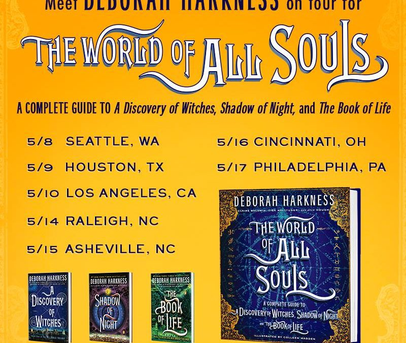 Further details on the US Tour for THE WORLD OF ALL SOULS
